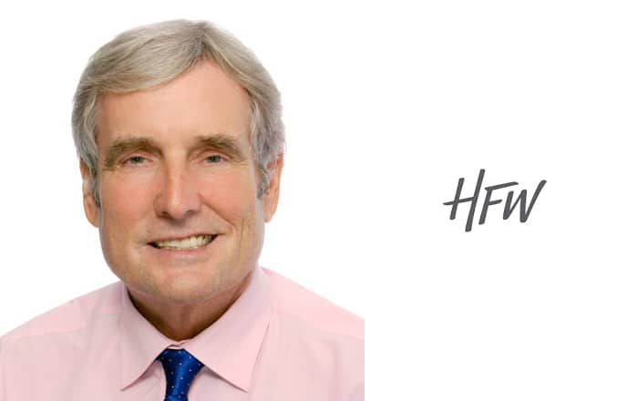 HFW Expands Singapore Shipping Practice With Hire Of Christopher Jones.