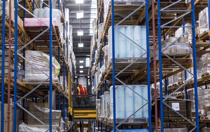 Europa Warehouse Renews Contract With E.T. Browne.
