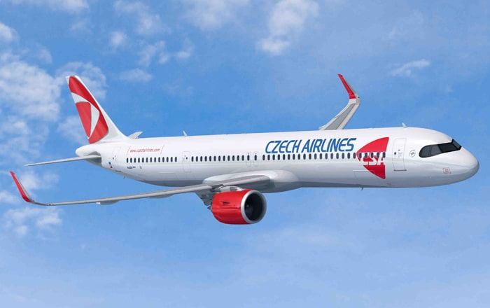 Czech Airlines Orders 4 A220 And Upsizes 3 A320neo To A321XLR.