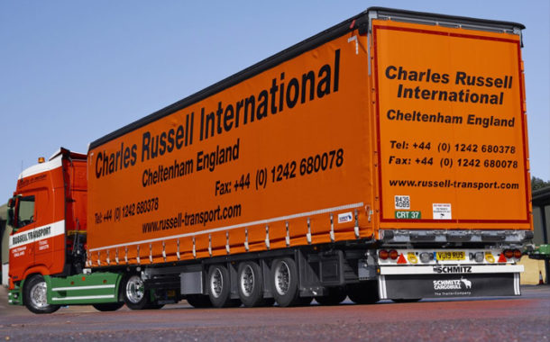 Schmitz Cargobull Helps Charles Russell International Capitalise On Capacity.