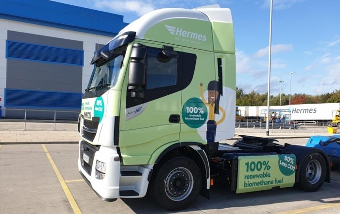 Hermes Increases 'Green Fleet' As Part Of Ongoing Sustainability Drive.