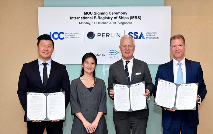 Project Is Launched To Transform Shipping Registries Globally.