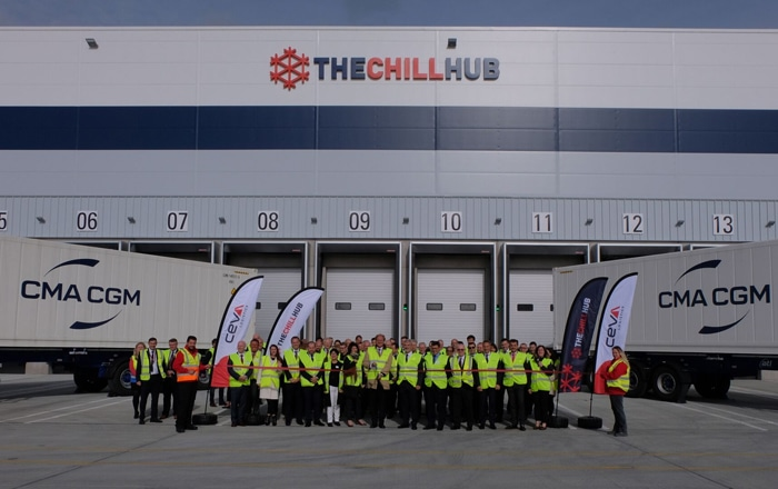 CEVA Logistics Inaugurates The Chill Hub - An Integrated, State-Of-The-Art Cold Chain Solution.
