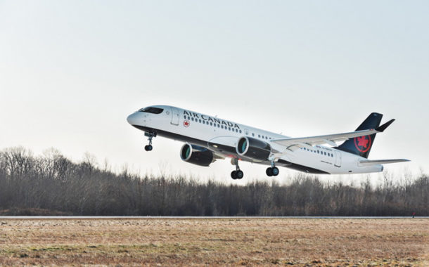 Air Canada Takes Delivery Of Its First A220.
