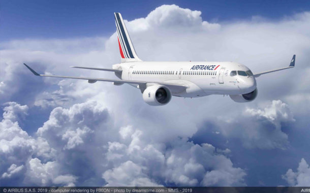 Air France-KLM Firms Up Order For 60 Airbus A220s.