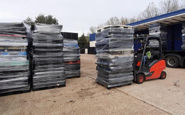 Customers Endorse Plastic Pallet Recycling Scheme.