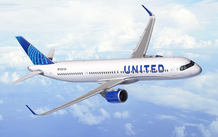 United Airlines Orders 50 Airbus A321XLRs For Transatlantic Route Expansion.